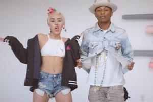 Nowy teledysk Pharrella i Miley!