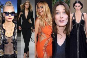 Tydzień Mody w Paryżu: Rita Ora BEZ BIELIZNY, na wybiegach Jenner i Hadid! (ZDJĘCIA)
