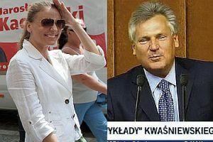 """Sandra Lewandowska uwodziła Kwaśniewskiego? """"STRASZNIE SIĘ KOŁO MNIE KRĘCIŁA"""""""