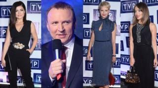 Celebrytki (i Kurski) w czerni na prezentacji ramówki TVP (ZDJĘCIA)
