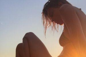 Anja Rubik żegna lato (FOTO)