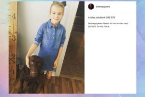 Britney Spears prosi o modlitwę za siostrzenicę