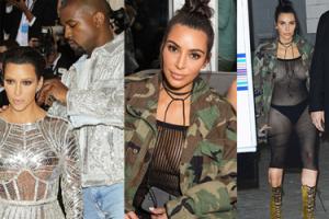 Co ma na sobie Kim Kardashian...? (FOTO)