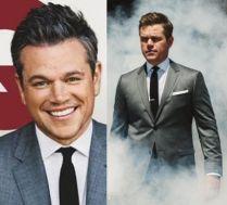 Siwy Matt Damon na okładce amerykańskiego