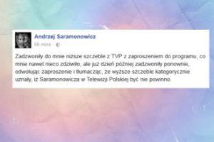 Nie chcą Saramonowicza w TVP?