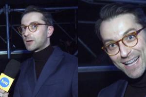 """Bobek założył aparat na zęby. """"To jest bardzo ryzykowne dla aktora"""""""