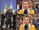 Imigranci molestowali dziennikarkę pracującą na wizji!