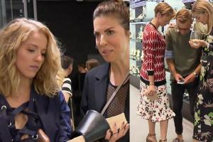 Woliński, Socha i Sablewska pozują z butami