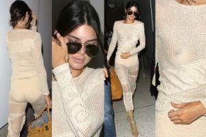 Piersi Kendall Jenner też przyleciały do Cannes (ZDJĘCIA)