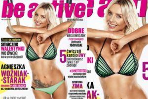 Agnieszka Szulim pokazuje płaski brzuch w magazynie Chodakowskiej (FOTO)