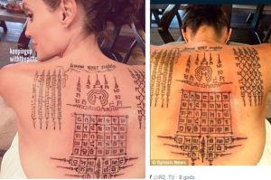 Przed rozwodem Angelina i Brad zrobili sobie mistyczne tatuaże! Miały związać ich małżeństwo… (FOTO)