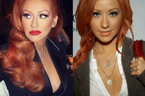 Christina Aguilera przefarbowała się na rudo!