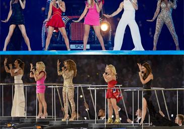 Spice Girls zamknęły Olimpiadę! (WIDEO)
