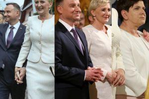 Zadowolony Andrzej Duda z żoną i znudzona Szydło na rocznicy objawień fatimskich (ZDJĘCIA)