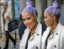 Patrycja Kazadi w fioletowych włosach... (ZDJĘCIA)
