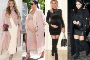 Beyonce w ciąży ubiera się jak... Kim Kardashian? (ZDJĘCIA)