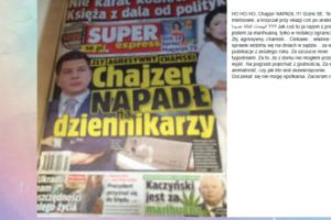 """Filip Chajzer pozwał tabloid. """"Za szczucie mnie tygodniami"""""""