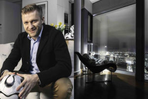 """Błaszczykowski """"kupił"""" luksusowy apartament w Cosmpolitan: """"Warto zadbać o to, czym będziemy się zajmowali po zakończeniu kariery..."""""""