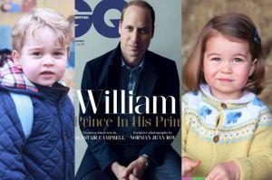 """Książę William dla """"GQ"""": """"Będę walczył o normalne życie dla moich dzieci"""""""