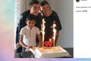 Cristiano Ronaldo pokazał tort urodzinowy