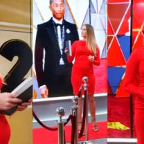 """Ciężarna Śłotała komentuje Oscary: """"Pharrell Williams to mój rodzynek. Od dawna jest ikoną stylu, ubiera się u Chanel"""""""