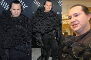 """Witkowski o swojej pelerynie: """"To jest prawdziwa moda haute couture!"""""""