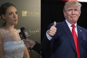 """Bachleda-Curuś o Trumpie: """"Strach i nadzieja, że postulaty nie dojadą do skutku. Niektóre są przerażające!"""""""