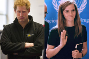 Książę Harry spotyka się z... Emmą Watson?