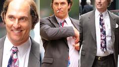 Łysy Matthew McConaughey... Poznajecie? (ZDJĘCIA)