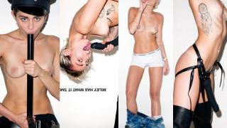 Miley Cyrus pozuje nago, z penisem... Przesadziła? (UWAGA: TYLKO DLA DOROSŁYCH!)