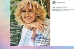 """Agata Młynarska chwali się """"swoją"""" okładką (FOTO)"""