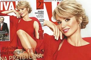 """Ania Przybylska na okładce """"Vivy""""! """"NAJPIĘKNIEJSZA""""?"""