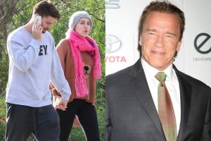 Schwarzenegger zaakceptował związek syna z Miley Cyrus!