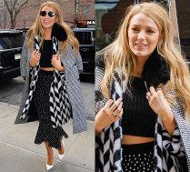#TRENDY: Blake Lively w dwóch płaszczach