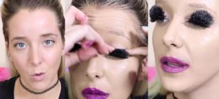 Hit Internetu: Vlogerka nałożyła... 100 WARSTW MAKIJAŻU