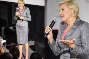 Agata Duda na premierze filmu o raku piersi (ZDJĘCIA)