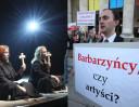 """Teatr Powszechny broni spektaklu z papieżem: """"Te sceny to WIZJA ARTYSTYCZNA. Wolność twórczości jest zagwarantowana w Konstytucji"""""""