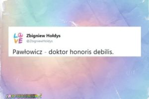 Zbigniew Hołdys podsumował Krystynę Pawłowicz