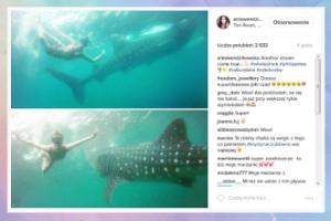 Wendzikowska chwali się nurkowaniem z... rekinem! (FOTO)