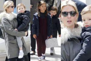 Ivanka Trump z dziećmi spaceruje po Nowym Jorku (ZDJĘCIA)