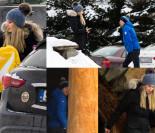 Kamil Stoch z żoną w restauracji. Przyjechali autem za 250 tysięcy (ZDJĘCIA)