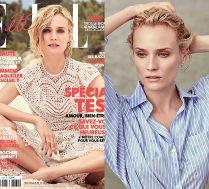 Romantyczna Diane Kruger na okładce