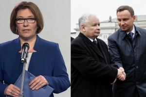 """Rzeczniczka PiS: """"Prezes Kaczyński wielokrotnie mówił, że konstytucja wymaga zmiany!"""""""