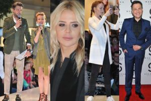 Sykut, Sablewska, Ibisz, Zielińska i Janiak na pokazie w centrum handlowym (ZDJĘCIA)