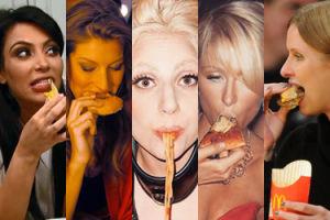 Celebrytki zajadają się burgerami, pizzą i pączkami... czyli Dzień Bez Diety (ZDJĘCIA)