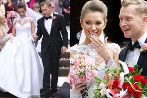 TYLKO U NAS: Wideo ze ślubu Wesołowskiego i Szczurek!