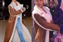 Rihanna w kożuchu za 30 tysięcy...