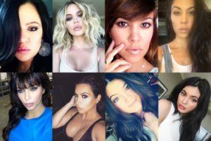 Stare selfie Kim, Khloe, Kourtney, Kendall i Kylie… Która zmieniła się najbardziej? (ZDJĘCIA)