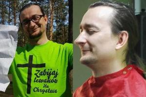 """Jaś Kapela atakuje """"milionera"""" Cebulskiego: """"Zarobił na sprzedawaniu internetu na płytach CD. Udaje bezdomnego, żeby ukrywać się przed policją!"""""""