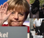 Angela Merkel chce zakazać noszenia burek!